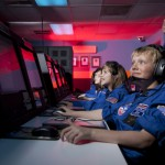 Missionskontrollzentrum im US Space Camp