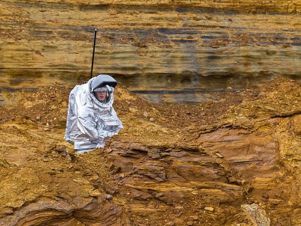 04 - Aouda.X im Rock Garden (Rio Tinto Mars Simulation)