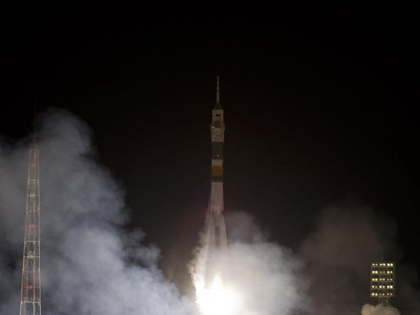 Expedition lift-off from Baikonur on a Soyuz on 21. Dec 2011 (c) NASA