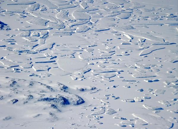 Ein Puzzlespiel der Natur in der hohen Arktis