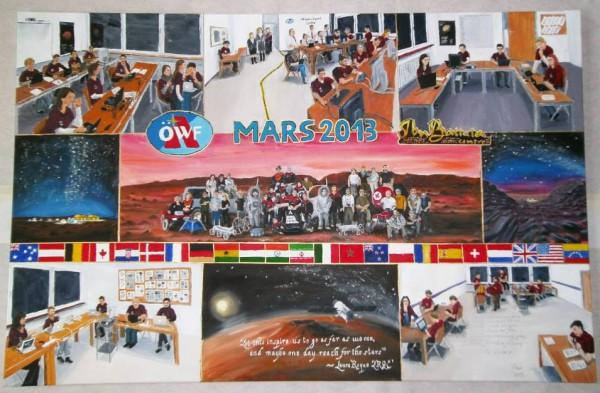 Ölgemälde MARS2013