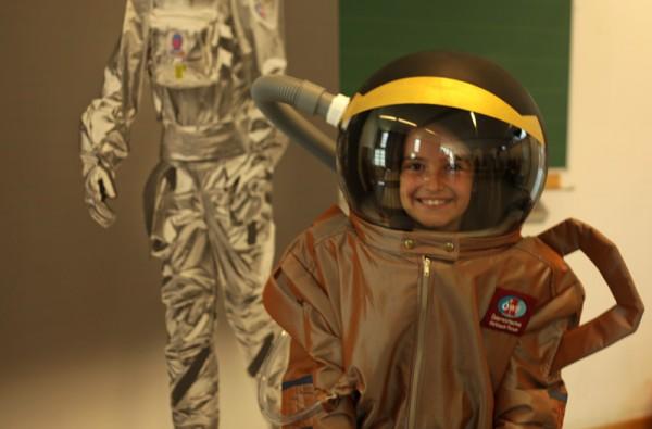 Zukünftige Astronautin? (c) ÖWF (Agnieszka Sekula)