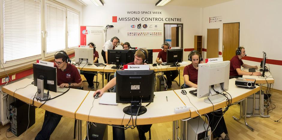 Herz des Missionskontrollzentrums in Innsbruck (c) ÖWF (Paul Santek)