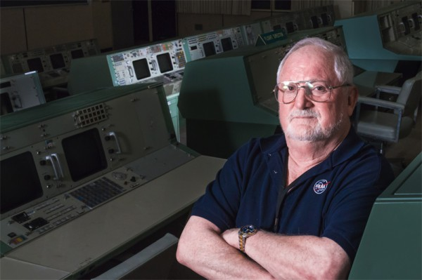 Sy Liebergot im Apollo Flight Control Room (c) arstechnica (Steven Michael)
