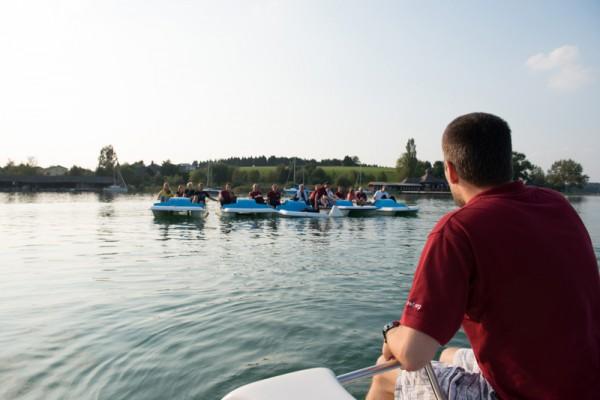 2. ÖWF Tretbootregatta (c) ÖWF (Stefan Hauth)