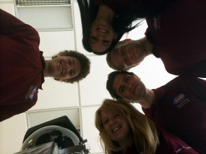 Group photo interns & Aouda